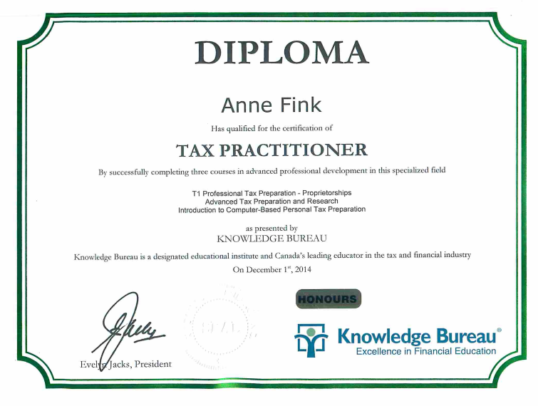 Certification-AnneFink