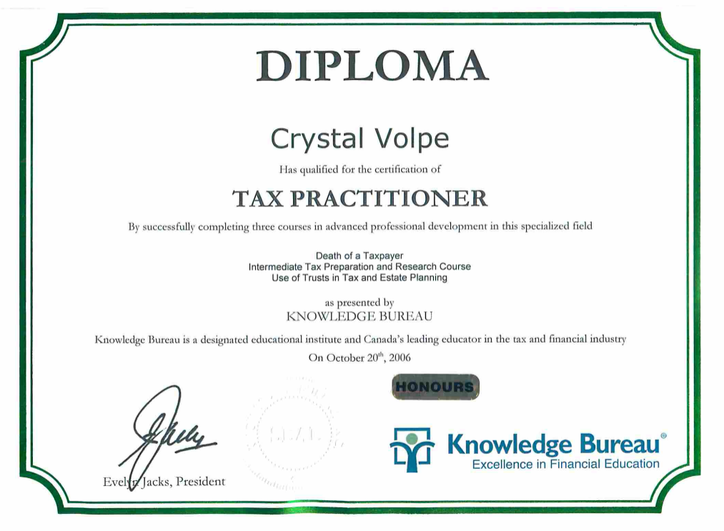 Certification-CrystalVolpe