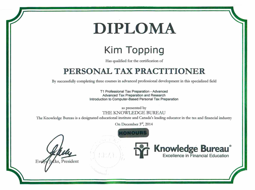 Certification-KimTopping